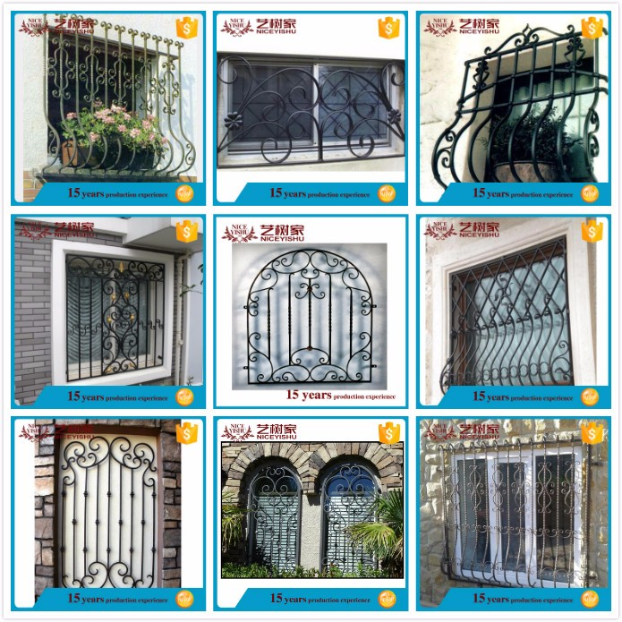 Steel Grill Art Deco Window Design,Grill Design Wrought