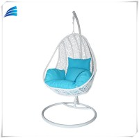 Outdoor Rattan Furniture Egg Shaped Swing Hanging Chair ...