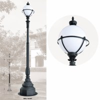 Classical Garden Lamp Stand Old Fashioned Outdoor Post ...