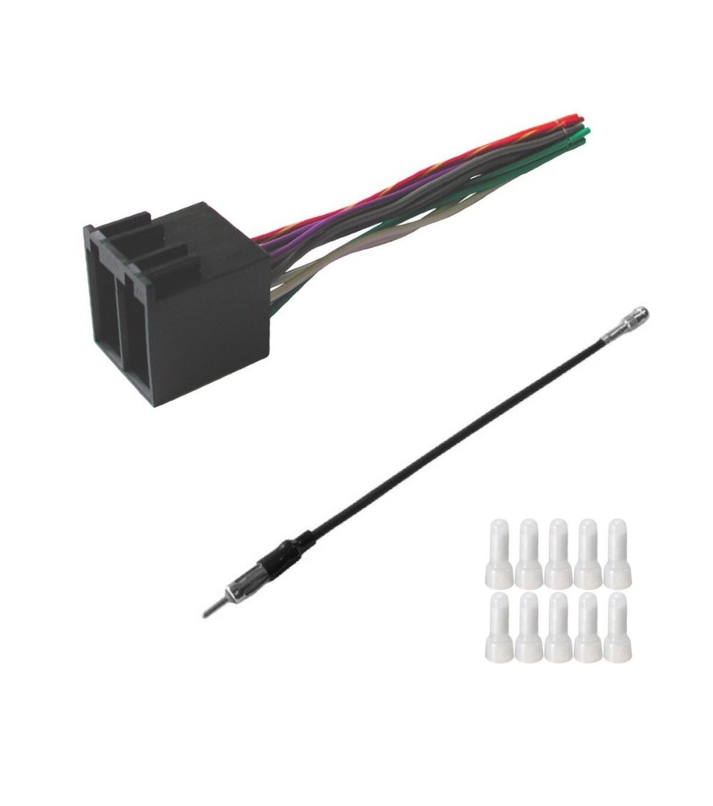 medium resolution of get quotations asc audio car stereo radio wire harness and antenna adapter to install an aftermarket radio for