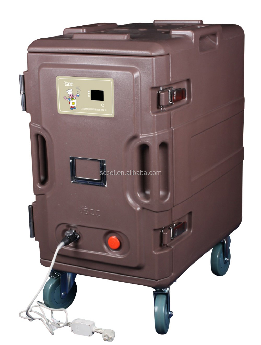 Food service insulated Loaders Heat Resistant cabinet