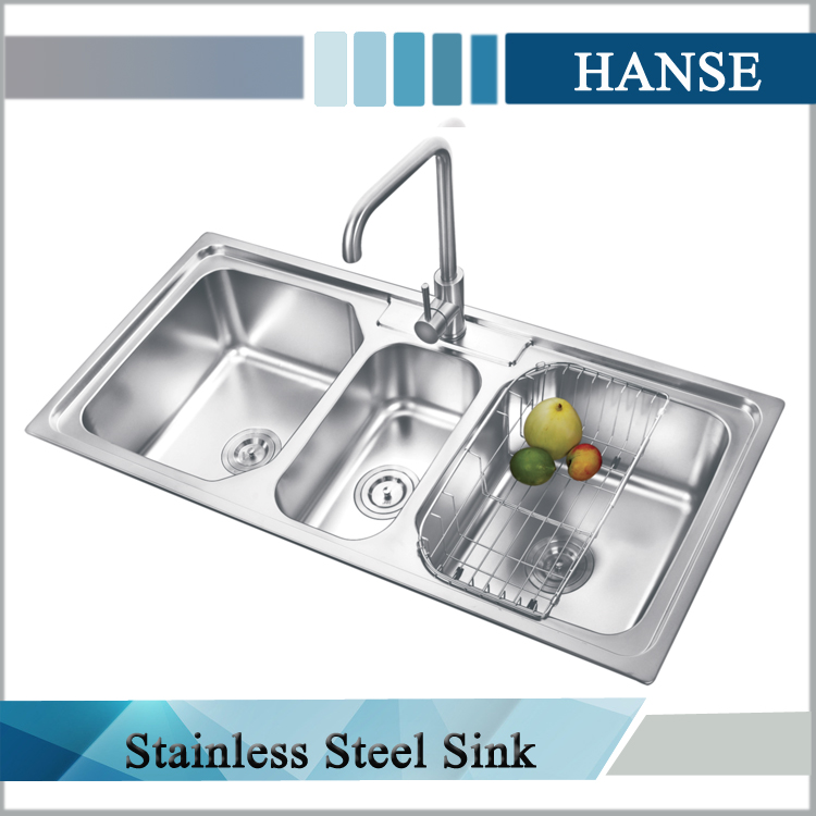 k e10850tb 3 compartment drop in sink 3 compartment sink 3 compartment stainless steel sink buy 3 compartment drop in sink 3 compartment sink 3