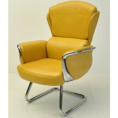 Leather Directors Chair Grey Floral Covers And Chrome Director Wholesale Suppliers Alibaba