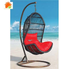 Basket Swing Chair India Papasan Target Rattan With Footrest Buy