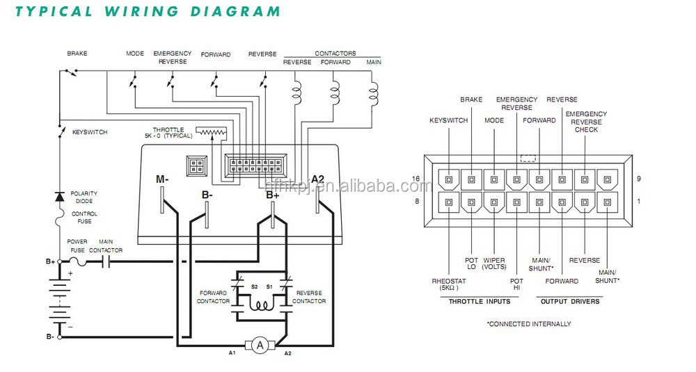 Wiring Diagram For Curtis 1204 Controller Curtis