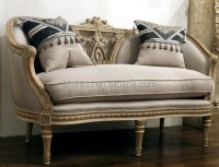 French Provincial Living Room Single Sofa/ Vintage Hand ...