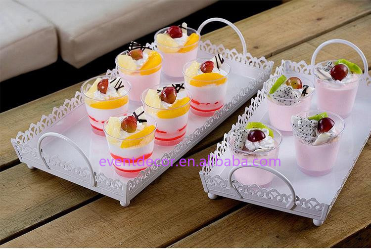 Square Dessert Tray For Home Decorationdecorative Trays For Indian
