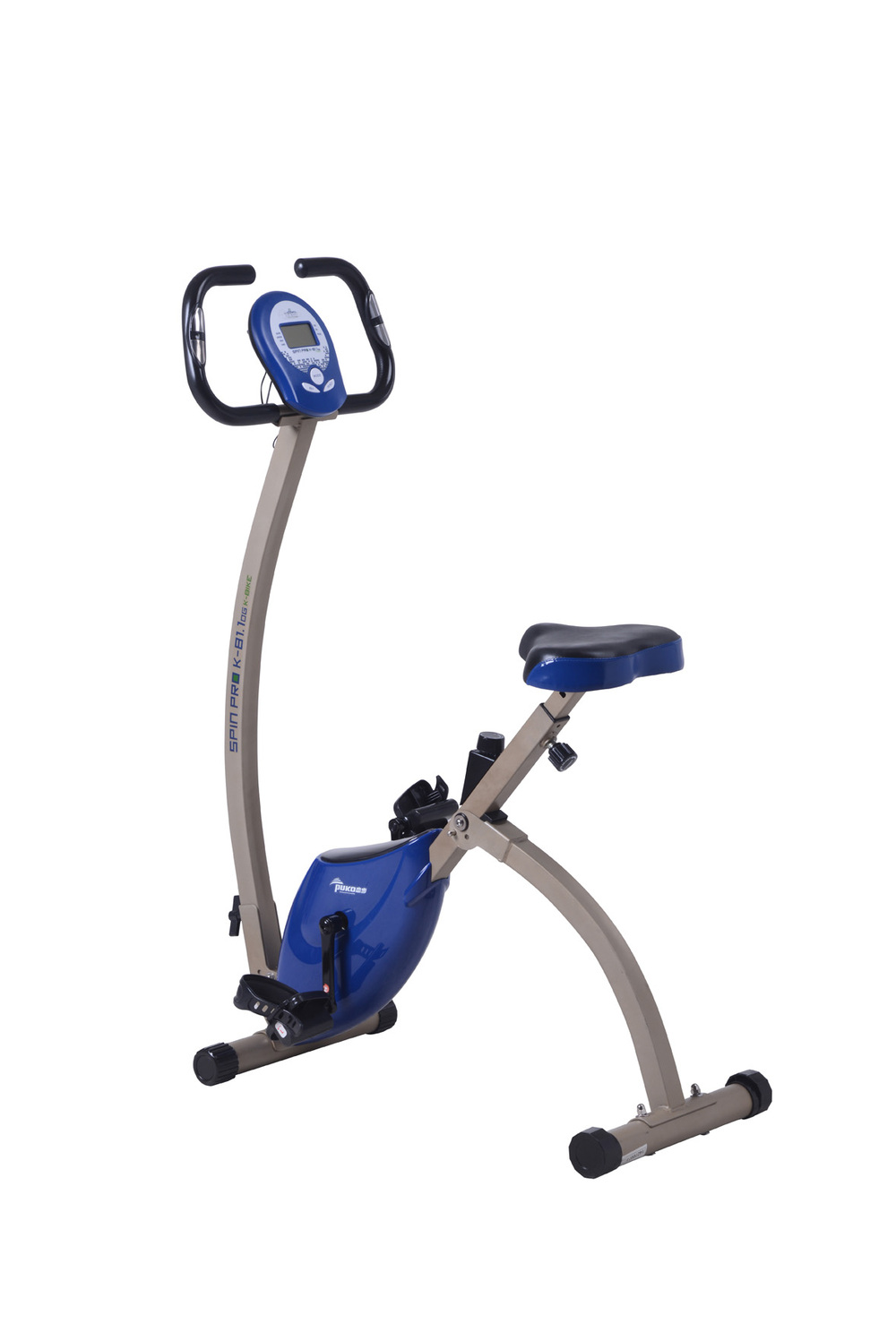 New Idea Folding Magnetic Exercise Bike With Removable