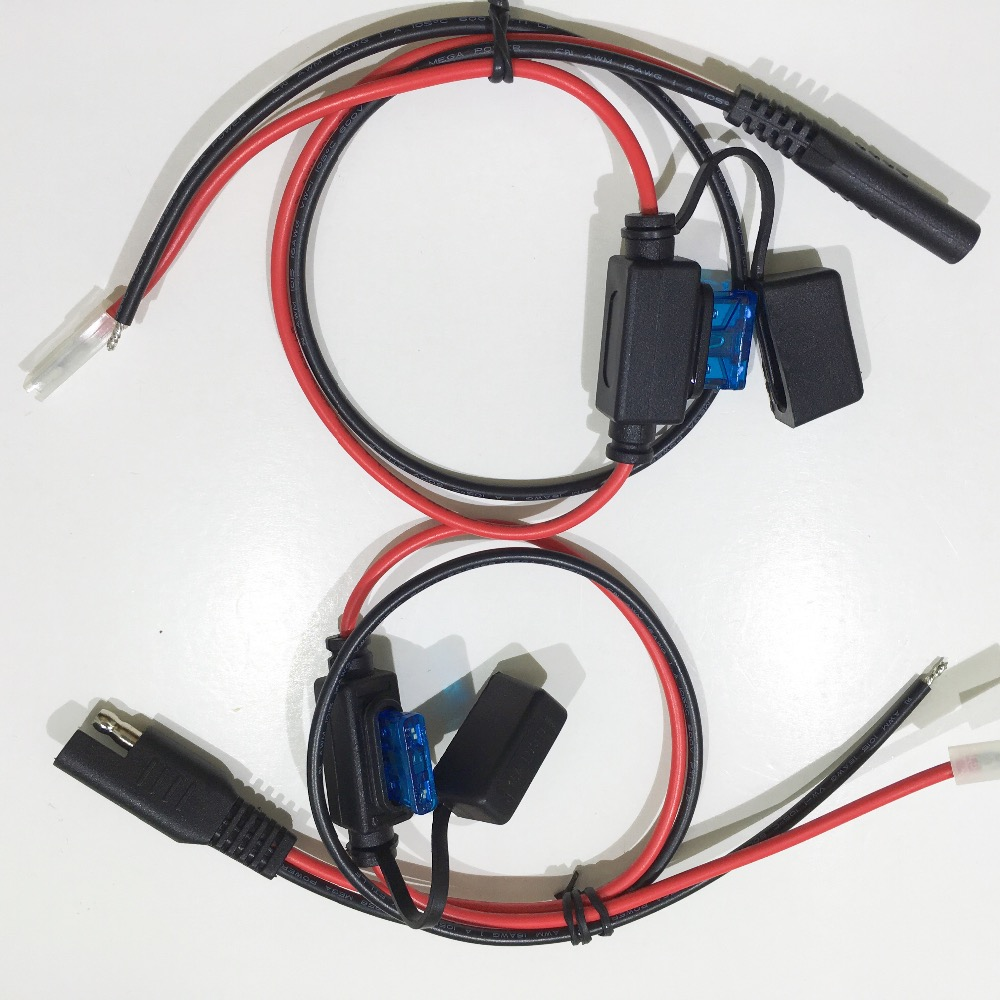 hight resolution of custom 7 5a fuse sae plug 187 terminal wire harness