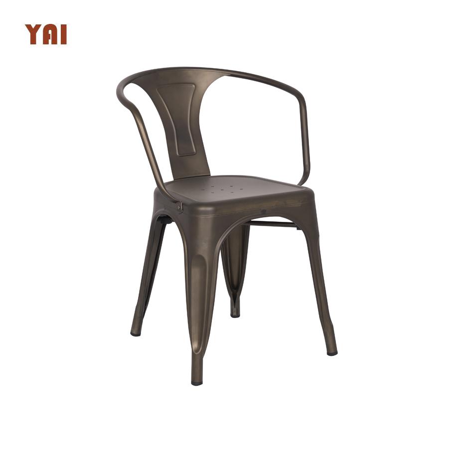 Venta al por mayor sillas hierro estilo francesCompre