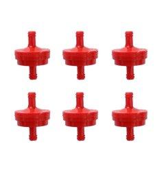 get quotations poweka new pack of 6pcs fuel filter for 1 4 fuel line 150 micron replace [ 1001 x 1001 Pixel ]