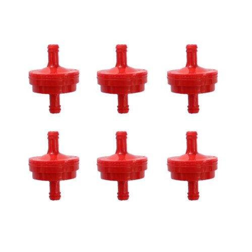 small resolution of get quotations poweka new pack of 6pcs fuel filter for 1 4 fuel line 150 micron replace