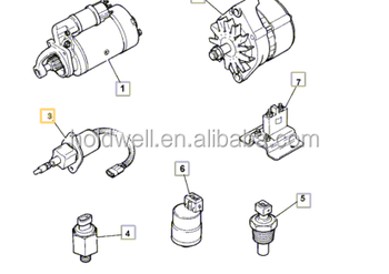 716/30147 Solenoid Engine Stop For Jcb 2cx 3cx 4cx Loadall