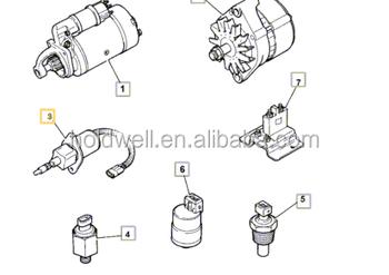 716/30147 Solenoid Engine Stop For Jcb 2cx 3cx 4cx Loadall