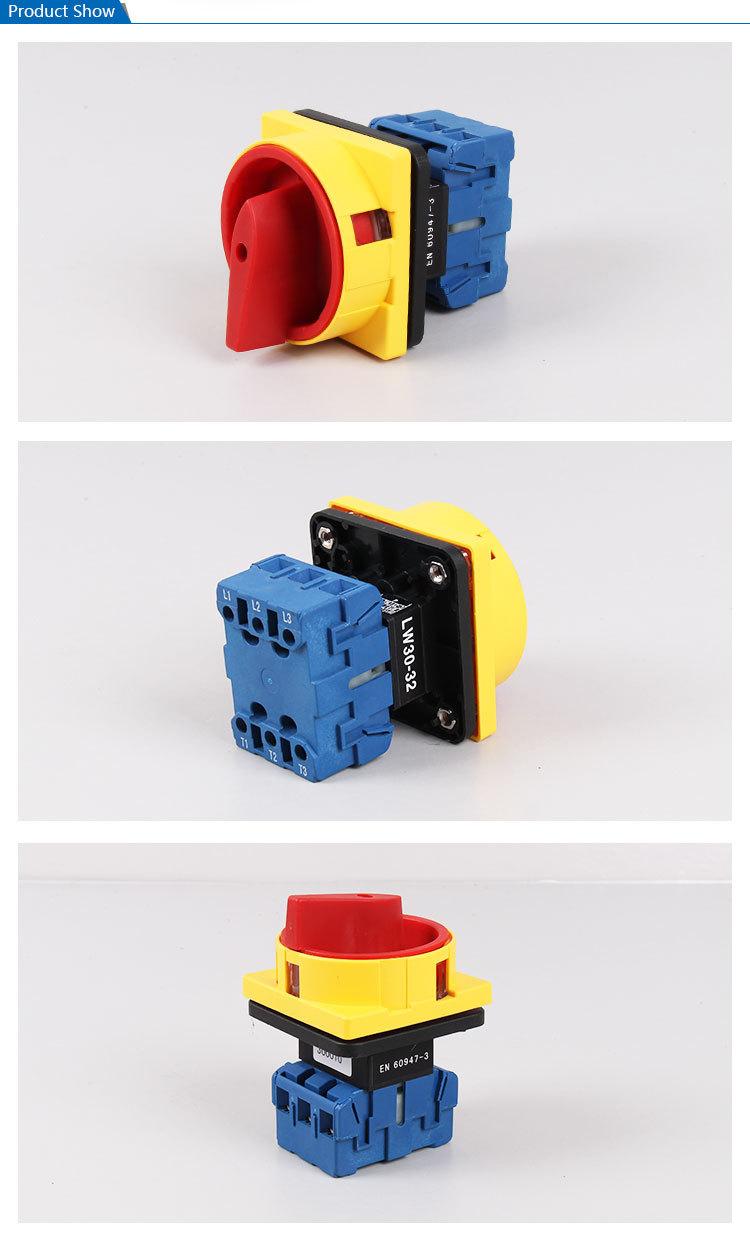 medium resolution of saip saipwell 32a 3 poles electrical rotary switch switchgear