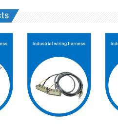 harting han modular rj45 rangierfeld 2p industrial wire harness for industrial robot [ 2000 x 918 Pixel ]