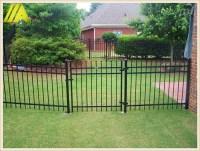 Powder Coating Backyard Black Aluminum Fence Panel - Buy ...