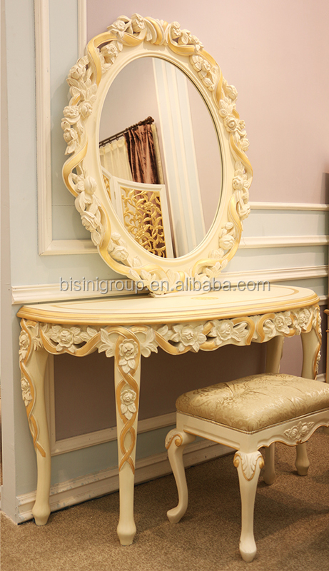 Royal Imperial Gold Carving Framed Mirror For WallLuxury