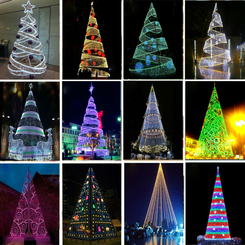 Lighted Christmas Cone