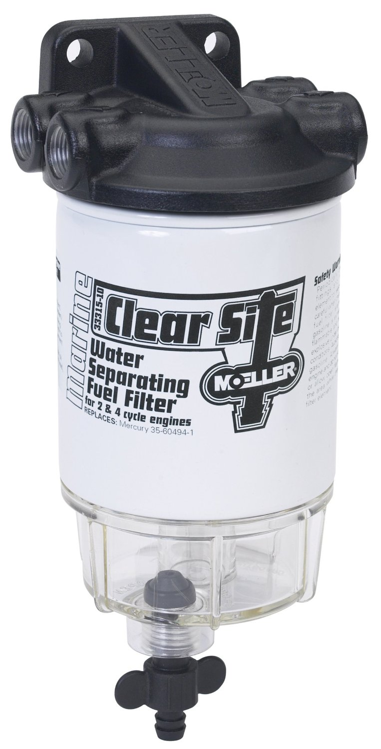 medium resolution of get quotations moeller clear site water separating fuel filter system 3 8 npt aluminum
