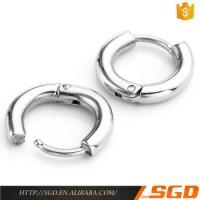 Stainless Steel Self Piercing Sleeper Earrings - Buy Self ...