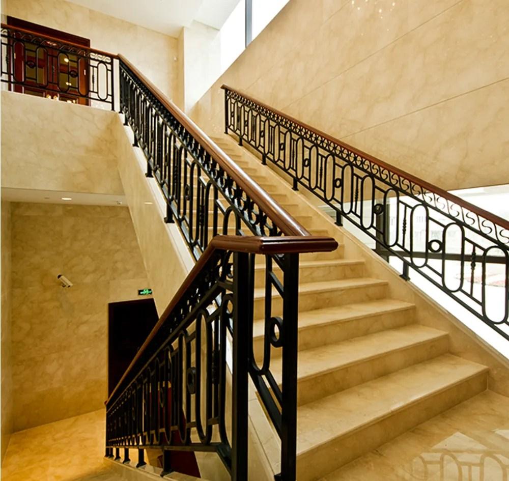 High Quality Metal Stair Stainless Steel Railing Design With | Stainless Steel Staircase Railing Designs | Curved | Elegant | Balcony | Balustrade | Mono Stringer Steel