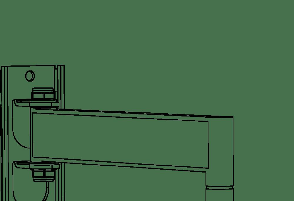 Tv Wall Bracket Corner Mount Tilt Swivel For Lcd Led