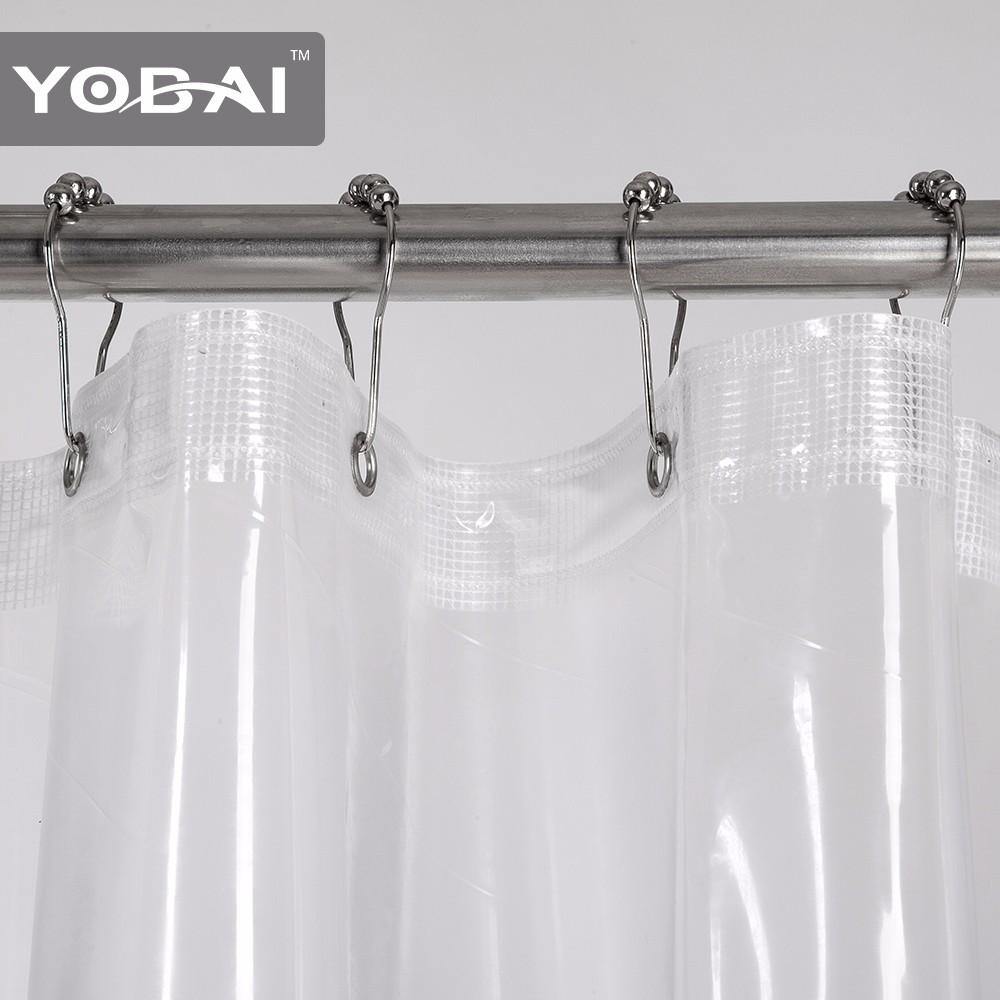 Custom Plastic Peva Bath Shower Curtain Liner  Buy Home