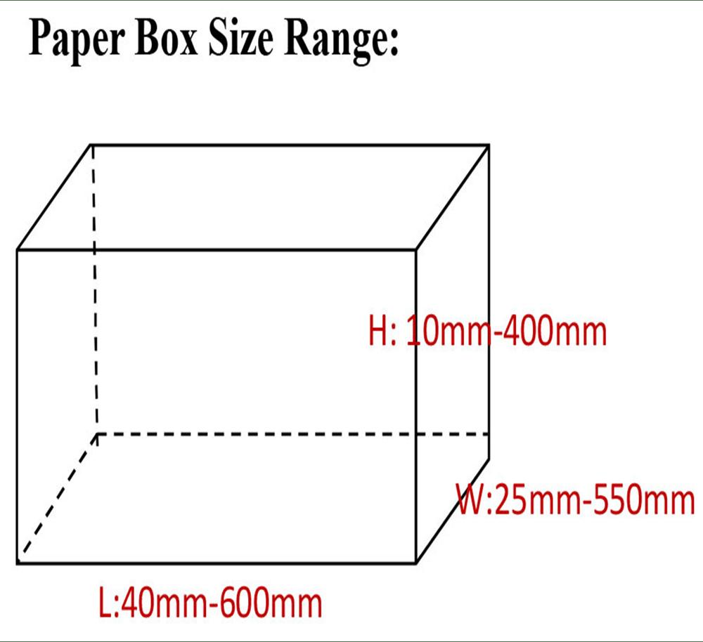 medium resolution of packaging company product box custom size