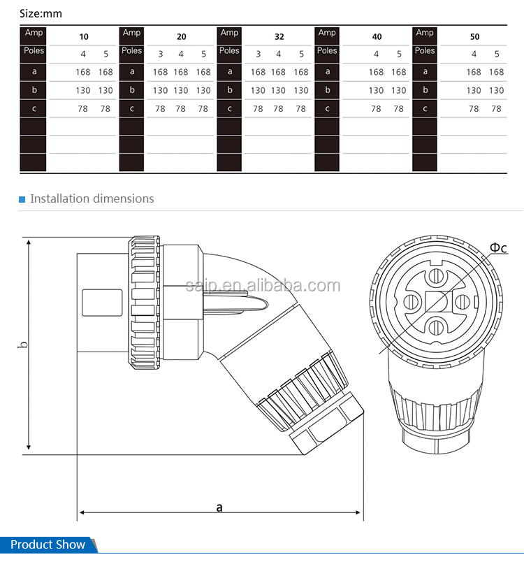 3 phase 5 pin socket wiring diagram acl lifestyle mid position valve ip66 32a 4pins plug 56pa432 buy