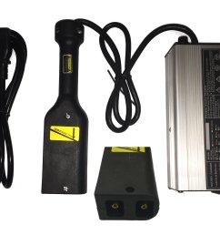 get quotations 36 volt 5 amp golf cart battery charger ez go club car ds ezgo txt powerwise [ 2427 x 1880 Pixel ]