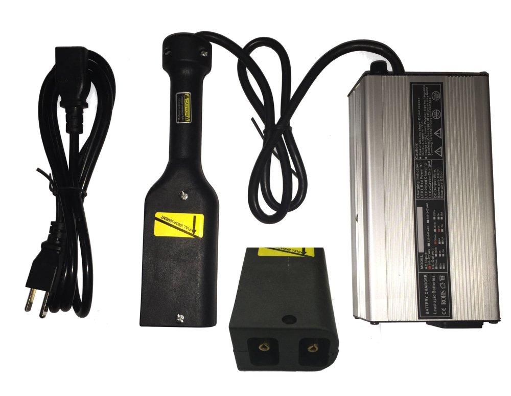 medium resolution of get quotations 36 volt 5 amp golf cart battery charger ez go club car ds ezgo txt powerwise