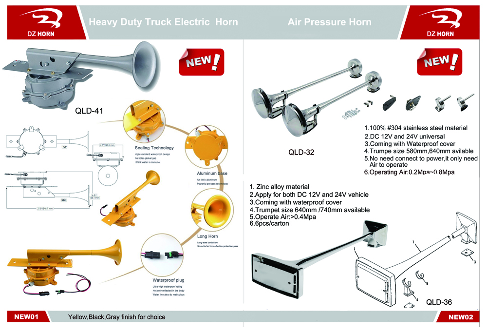 how to wolf whistle diagram golf 4 wiring dz horn 12v 24v universal air buy