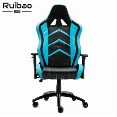 Adult Gaming Chair Wedding Cover Hire South Yorkshire Ergonomic Series Executive Racing Style Pu Leather Computer White