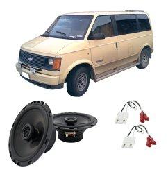 get quotations fits chevy astro van 1985 1990 rear door factory replacement ha r65 speakers new [ 1000 x 1000 Pixel ]