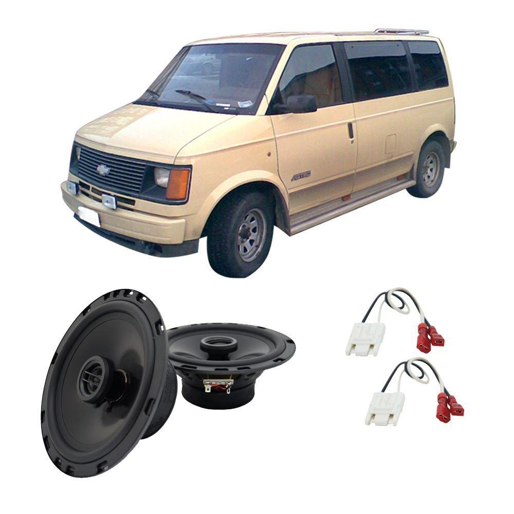 hight resolution of get quotations fits chevy astro van 1985 1990 rear door factory replacement ha r65 speakers new