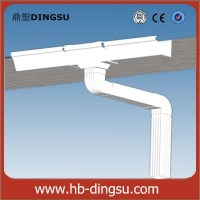 Pvc Drainage Pipe/ Rain Water Roof Drain Gutter System ...
