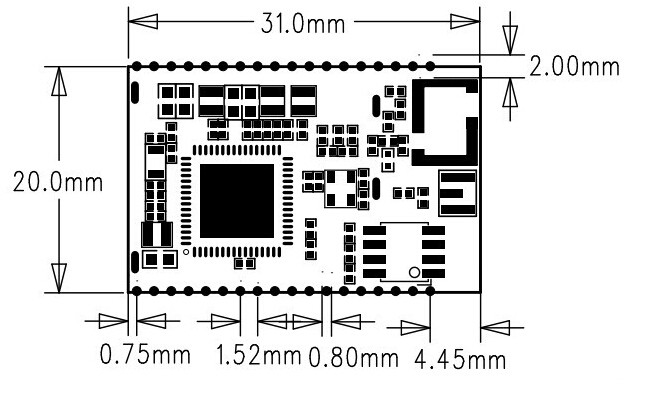 Factory Wholesale Low Cost Cc3200 Wifi Module Support