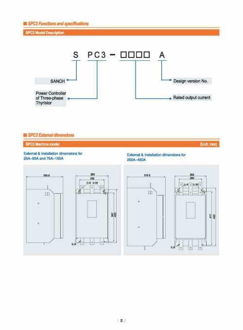 small resolution of sanch spc3 energe saving full digital 380v 50a 3 phase ac thyristor scr power regulator