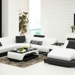 China Sofas Online Grey Carpet Dark Brown Sofa Gray Leather Color Living Room High Quality Furniture G8009