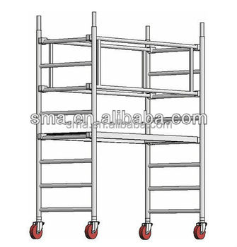 Easy Climb Construction Frame Scaffolding(real Factory In