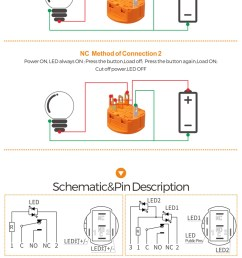 28mm 30mm spst momentary lighted push button switch schematic wiring wholesale [ 750 x 1216 Pixel ]