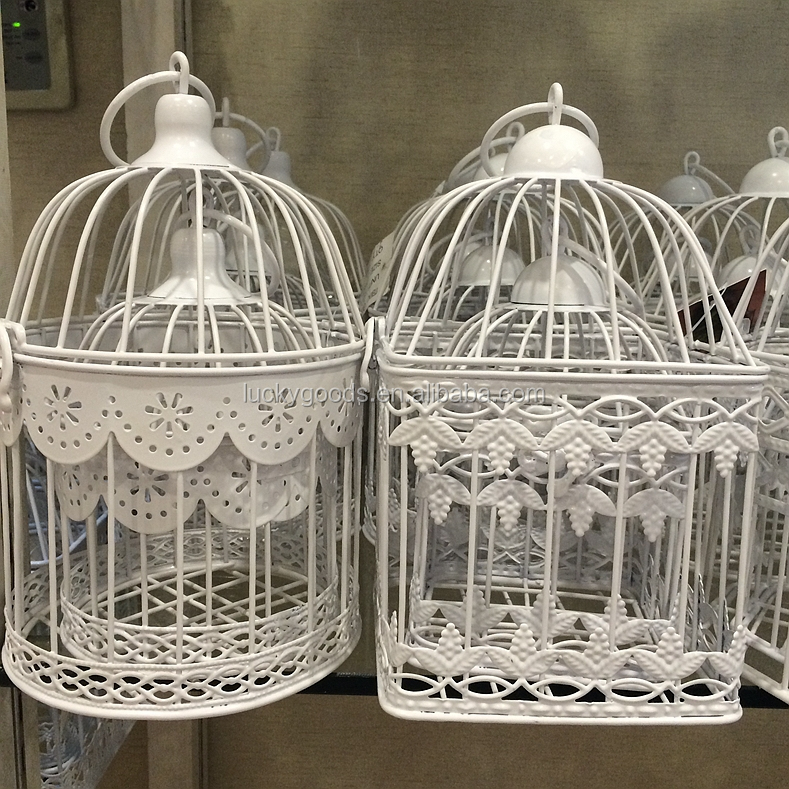 Hanging Small Decorative Iron Wire Bird Cage Wholesale  Buy Iron Wire Bird CageDecorative Bird