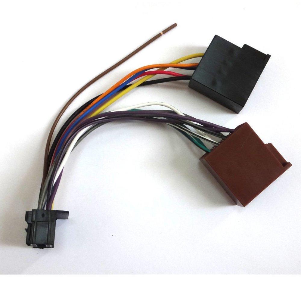 medium resolution of conpus car stereo radio iso wiring harness connector adaptor cable loom pioneer 16 pin ad118