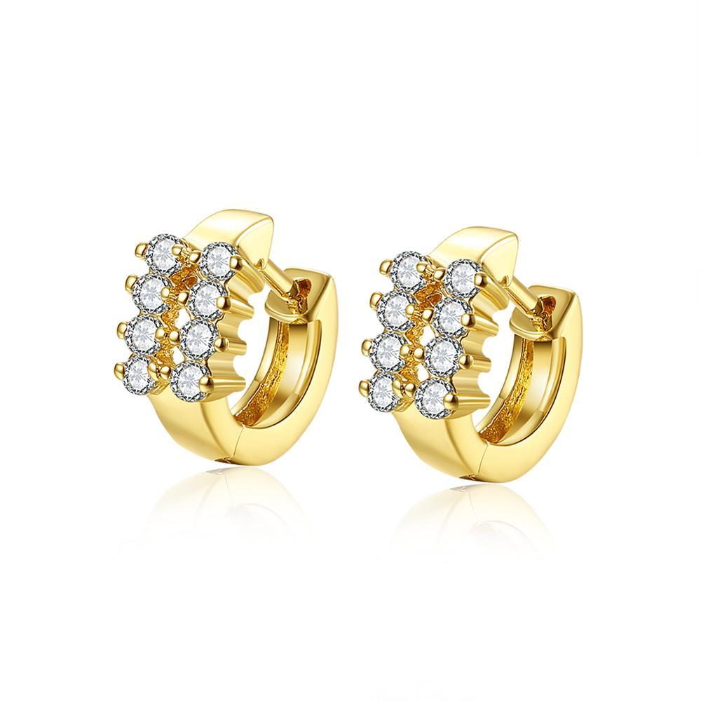 New Design Of Gold Earrings