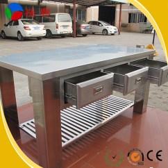 Kitchen Appliance Parts Storage Bench 316 Stainless Steel Work Bench/work Bench/custom ...