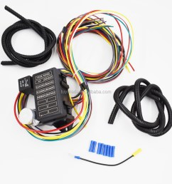 8 circuit universal wire harness muscle car hot rod street rod rat 8 circuit universal wire [ 1000 x 1000 Pixel ]