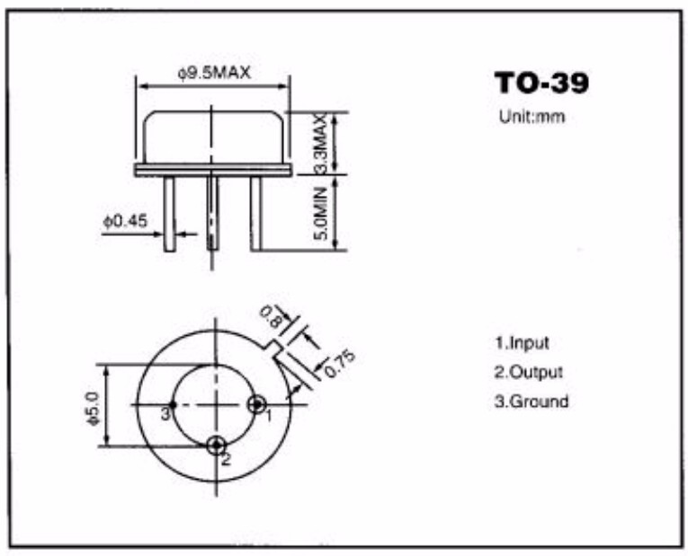 R433 D11 SAW Resonators 433.92mhz 3pins Crystal Resonator