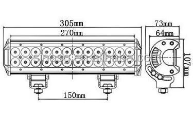 4 Led Flood Light Bar LED Work Light Bar Wiring Diagram