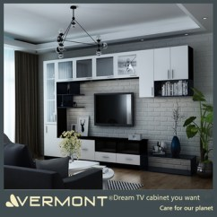 Cheap Wall Units For Living Room Set Ups Small Rooms Home Furniture Tv Mount Wood Led Unit Design Buy
